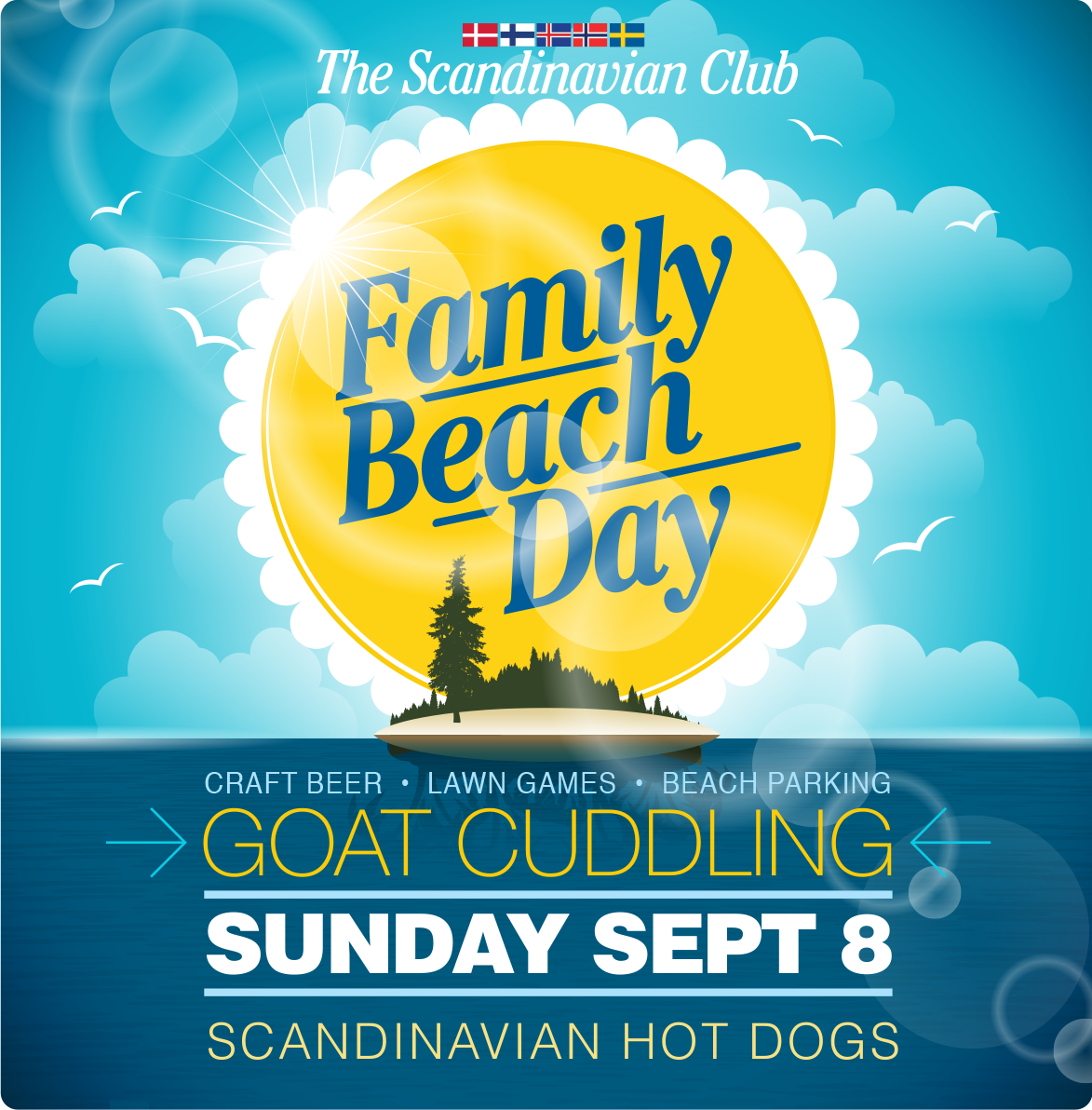 Family Beach Day - Sunday, September 8